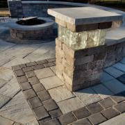 Pillars & Seat Walls